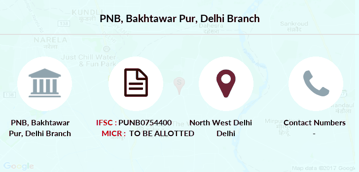 Punjab-national-bank Bakhtawar-pur-delhi branch