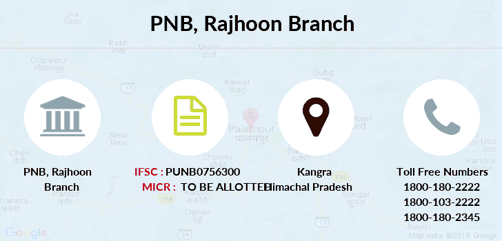 Punjab-national-bank Rajhoon branch