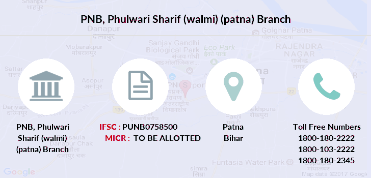 Punjab-national-bank Phulwari-sharif-walmi-patna branch
