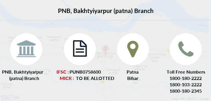 Punjab-national-bank Bakhtyiyarpur-patna branch