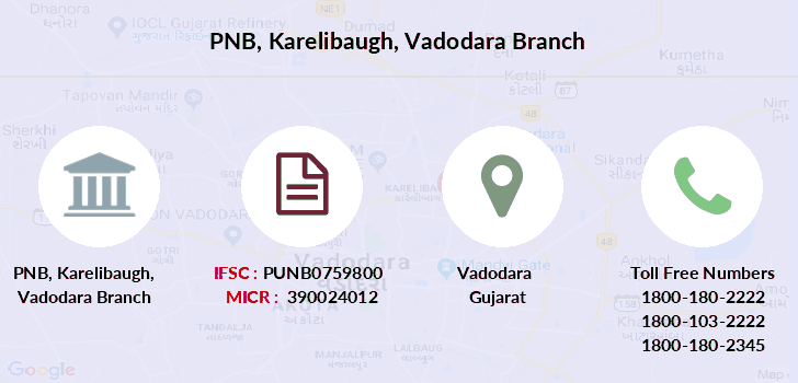 Punjab-national-bank Karelibaugh-vadodara branch