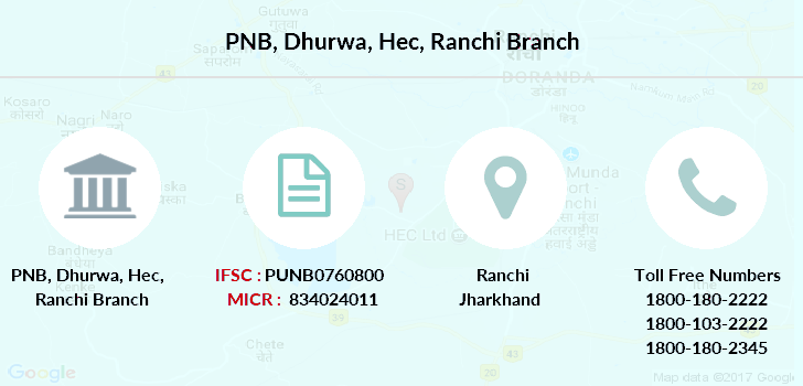 Punjab-national-bank Dhurwa-hec-ranchi branch