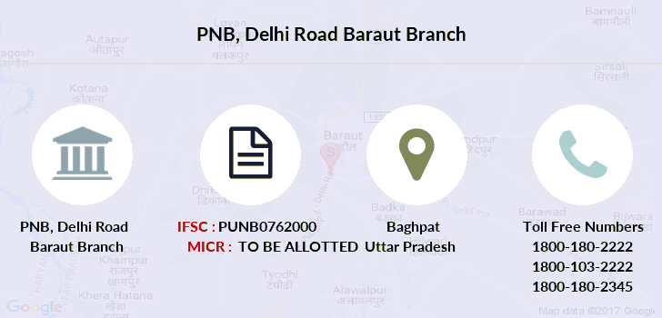 Punjab-national-bank Delhi-road-baraut branch