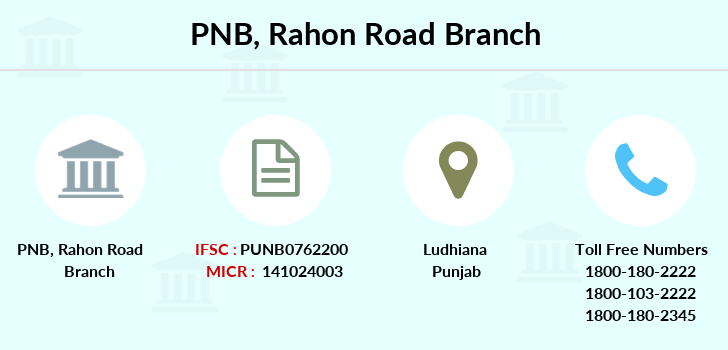 Punjab-national-bank Rahon-road branch