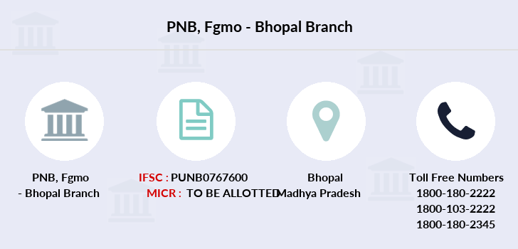Punjab-national-bank Fgmo-bhopal branch