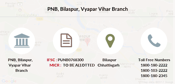 Punjab-national-bank Bilaspur-vyapar-vihar branch