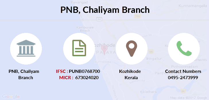 Punjab-national-bank Chaliyam branch