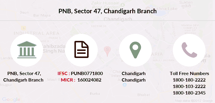 Punjab-national-bank Sector-47-chandigarh branch