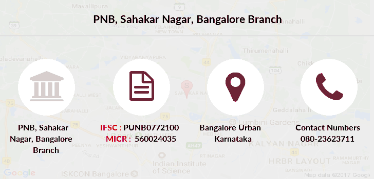 Punjab-national-bank Sahakar-nagar-bangalore branch