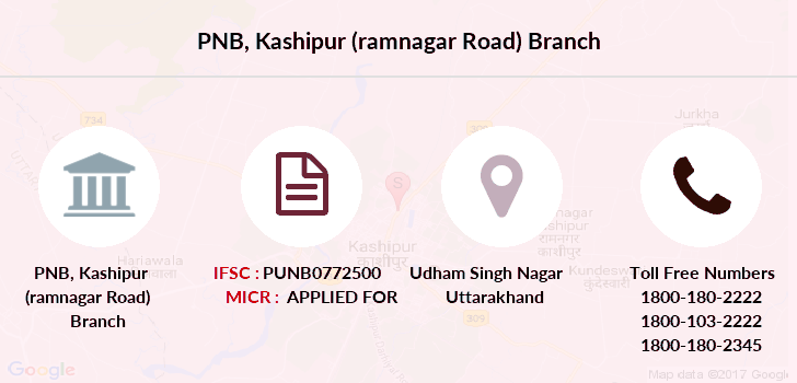 Punjab-national-bank Kashipur-ramnagar-road branch