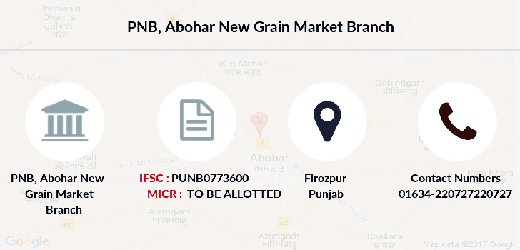 Punjab-national-bank Abohar-new-grain-market branch