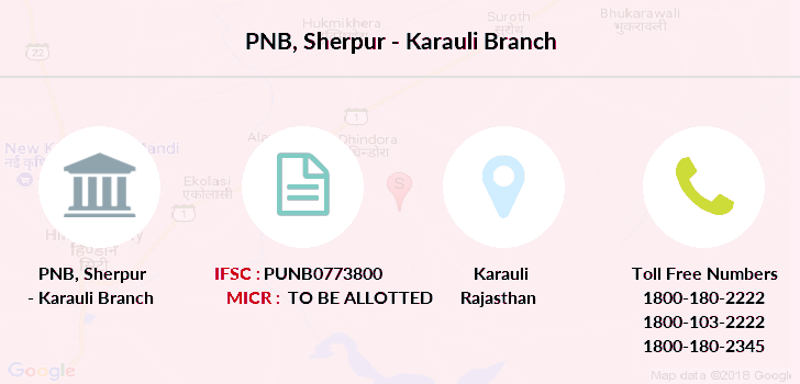 Punjab-national-bank Sherpur-karauli branch