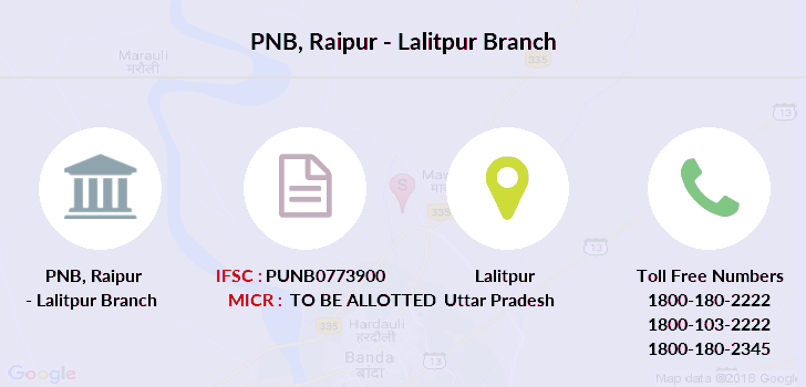 Punjab-national-bank Raipur-lalitpur branch