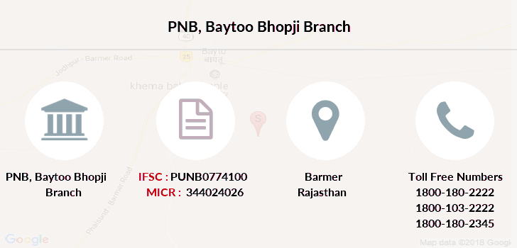 Punjab-national-bank Baytoo-bhopji branch