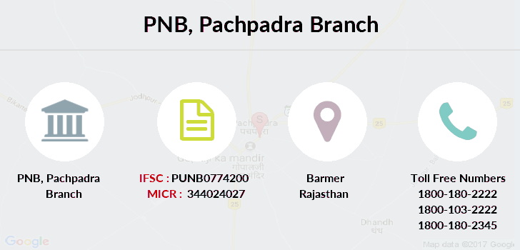Punjab-national-bank Pachpadra branch