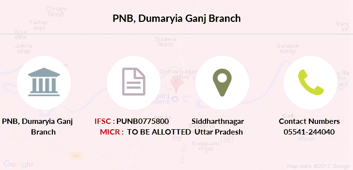 Punjab-national-bank Dumaryia-ganj branch