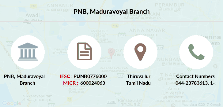 Punjab-national-bank Maduravoyal branch