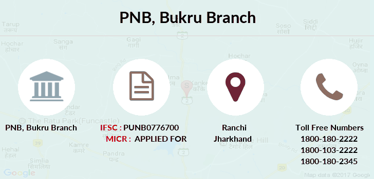 Punjab-national-bank Bukru branch