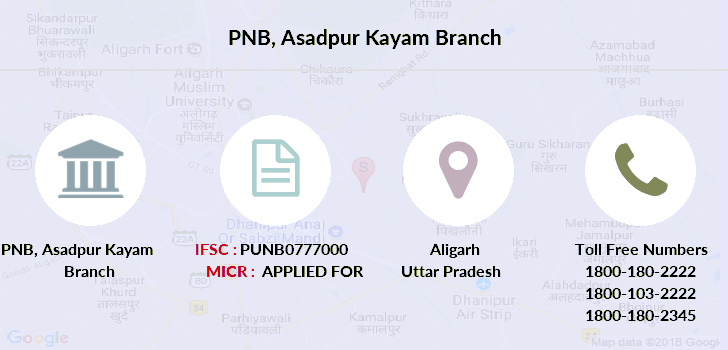 Punjab-national-bank Asadpur-kayam branch