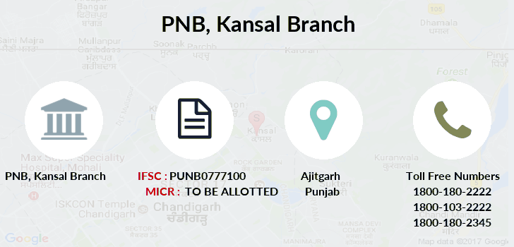 Punjab-national-bank Kansal branch
