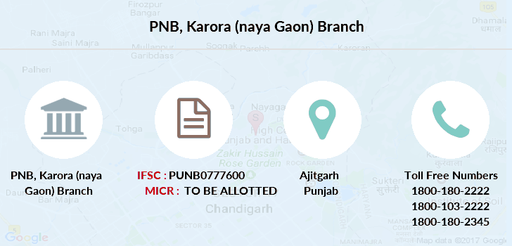 Punjab-national-bank Karora-naya-gaon branch