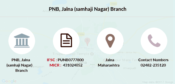 Punjab-national-bank Jalna-samhaji-nagar branch