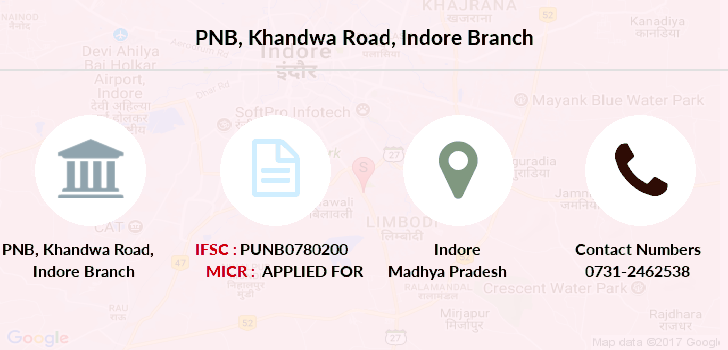 Punjab-national-bank Khandwa-road-indore branch