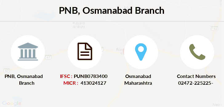 Punjab-national-bank Osmanabad branch