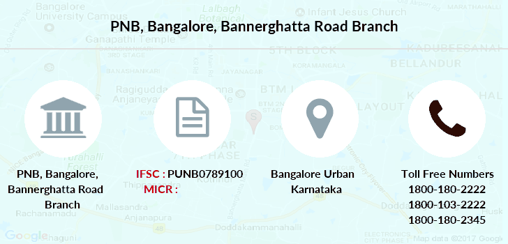Punjab-national-bank Bangalore-bannerghatta-road branch
