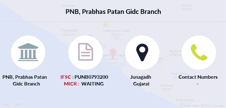 Punjab-national-bank Prabhas-patan-gidc branch