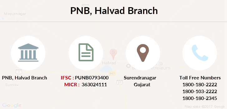 Punjab-national-bank Halvad branch