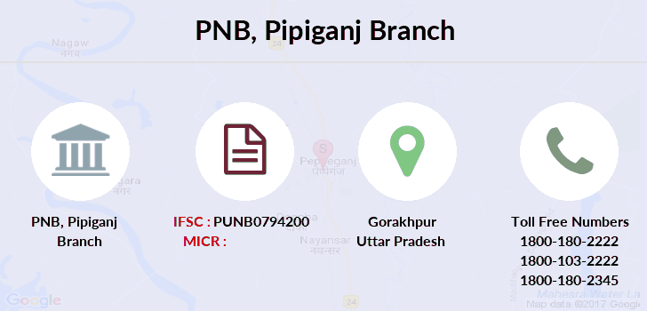 Punjab-national-bank Pipiganj branch
