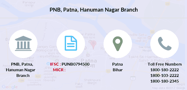 Punjab-national-bank Patna-hanuman-nagar branch
