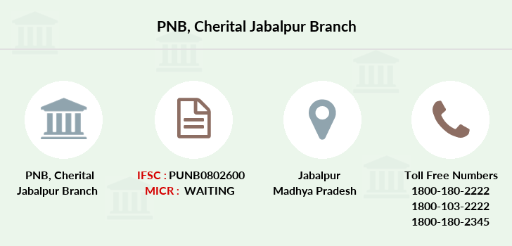 Punjab-national-bank Cherital-jabalpur branch