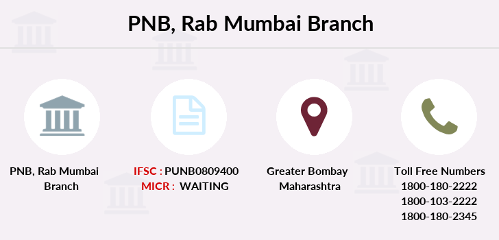 Punjab-national-bank Rab-mumbai branch