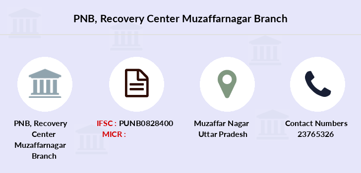 Punjab-national-bank Recovery-center-muzaffarnagar branch