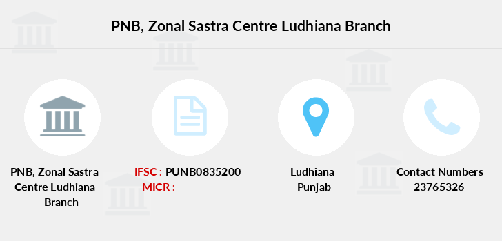 Punjab-national-bank Zonal-sastra-centre-ludhiana branch