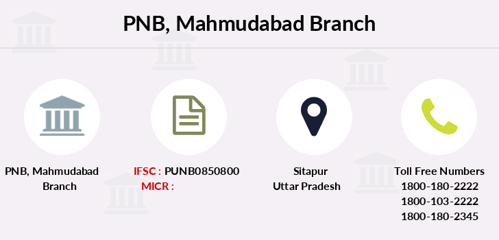 Punjab-national-bank Mahmudabad branch
