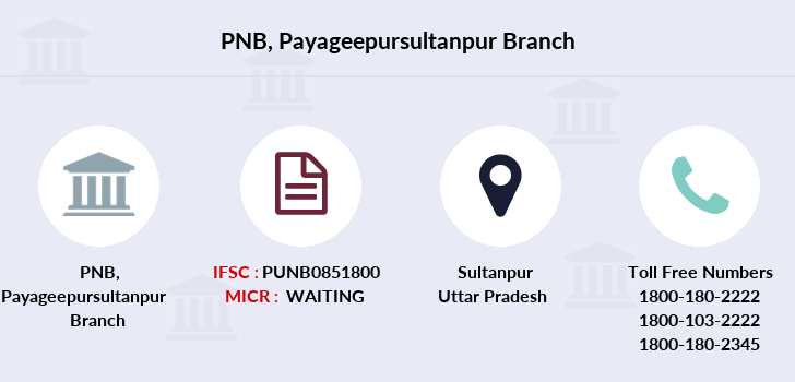 Punjab-national-bank Payageepursultanpur branch