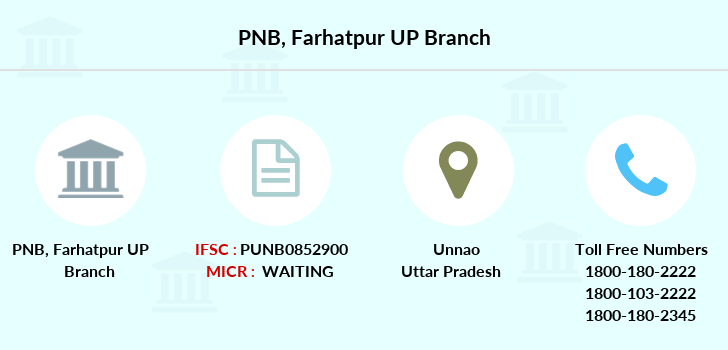 Punjab-national-bank Farhatpur-up branch