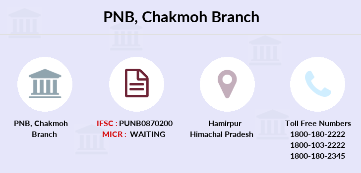 Punjab-national-bank Chakmoh branch