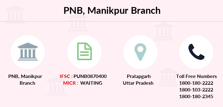 Punjab-national-bank Manikpur branch