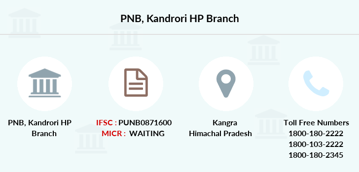 Punjab-national-bank Kandrori-hp branch