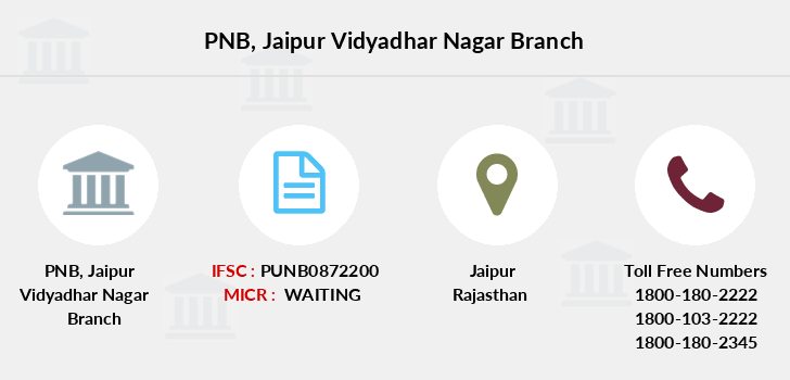 Punjab-national-bank Jaipur-vidyadhar-nagar branch