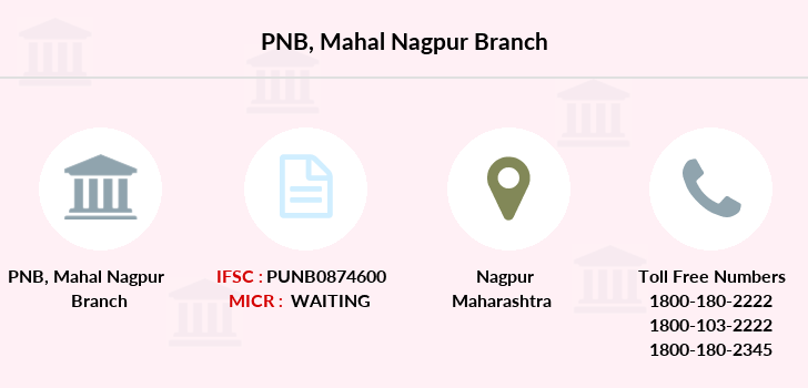 Punjab-national-bank Mahal-nagpur branch