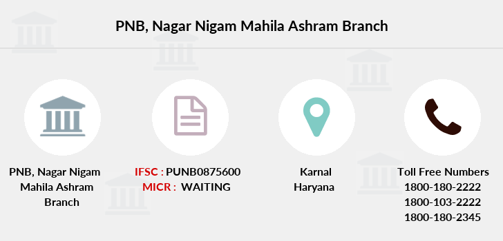 Punjab-national-bank Nagar-nigam-mahila-ashram branch