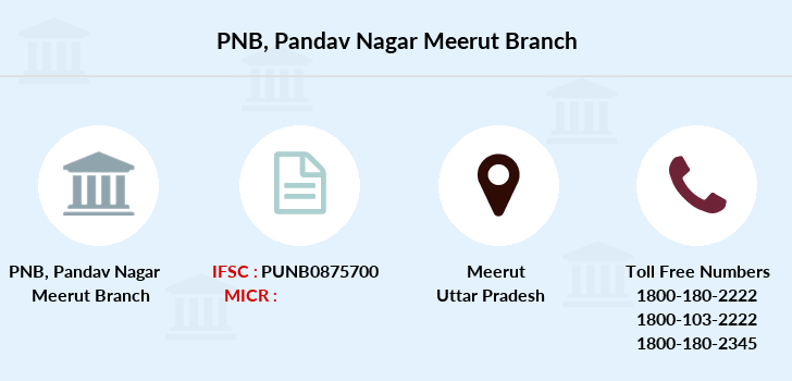 Punjab-national-bank Pandav-nagar-meerut branch