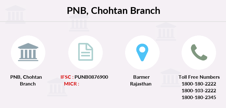 Punjab-national-bank Chohtan branch