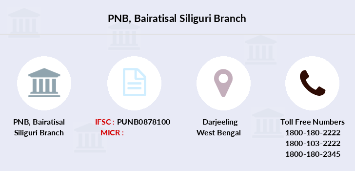Punjab-national-bank Bairatisal-siliguri branch