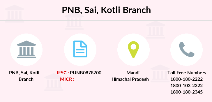Punjab-national-bank Sai-kotli branch